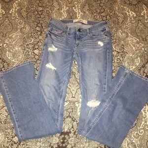 NWOT Hollister boot cut jeans